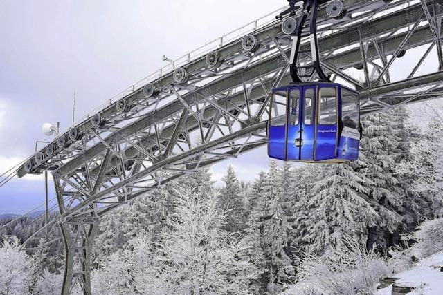 Schauinslandbahn übertrifft Rekord vom Vorjahr und lockt mit Besonderheiten