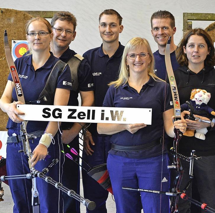 Klassenerhalt in der Regionalliga der ...n  von der Schützengesellschaft Zell.   | Foto: Privat