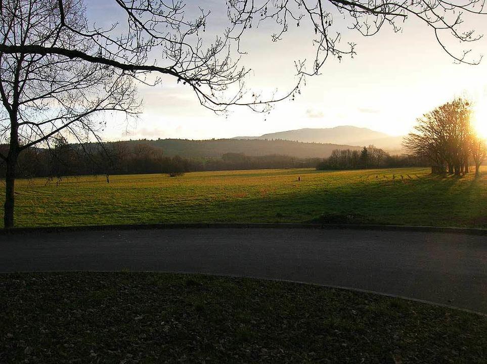 Freier Blick auf die Landschaft &#8211...platte der Neubronnstraße aus gesehen.  | Foto: Sylvia-Karina  Jahn