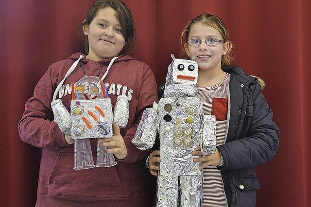 Roboter aus Abfall