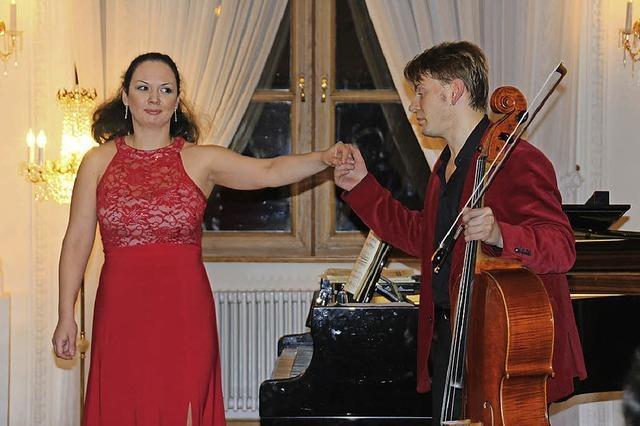 Alina Kabanova (Klavier) & Fjodor Elesin (Violoncello) in St. Blasien