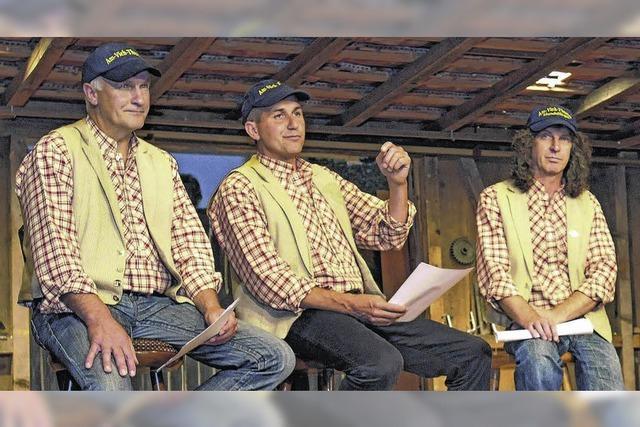 Am-Vieh-Akteure planen einen neuen Coup