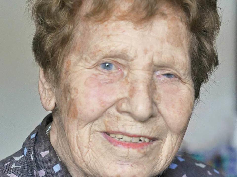Hildesuse Gärtner wurde 93 Jahre alt  | Foto: Michael Bamberger