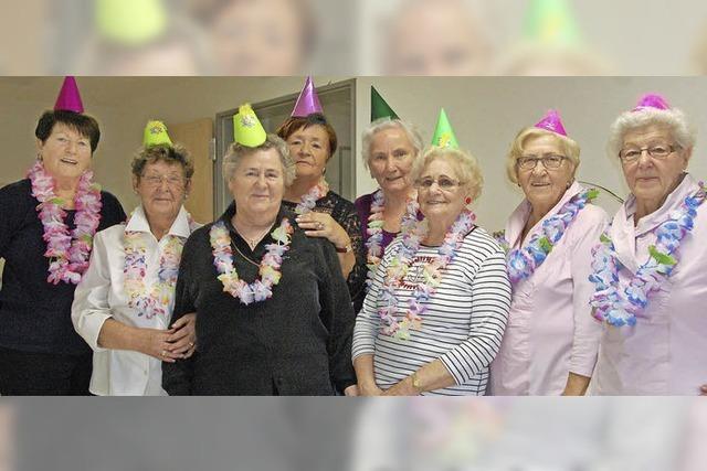 Senioren närrisch umsorgt
