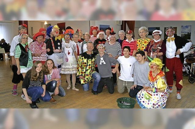 Clownereien im Pflegeheim