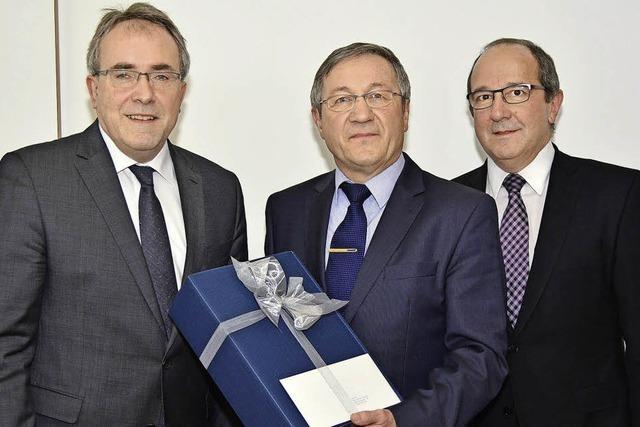 Volksbank dankt Germer