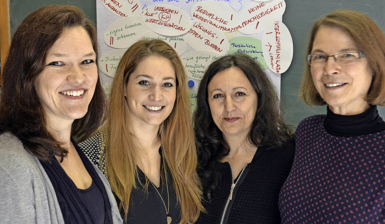 Ausbildung zum Social Mediator an der ...alerie Bonfiglio und Christine Hodel.   | Foto: Sophia Hesser