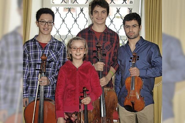 Meisterkurse locken junge Musiker in die Stadt