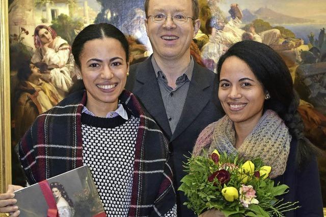 Winterhalter-Ausstellung im Augustinermuseum begrüßt die 30000. Besucherin