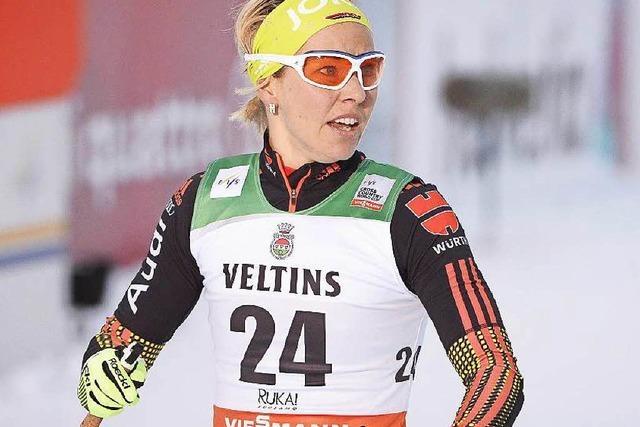 Stefanie Böhler Zehnte und beste Deutsche in Falun