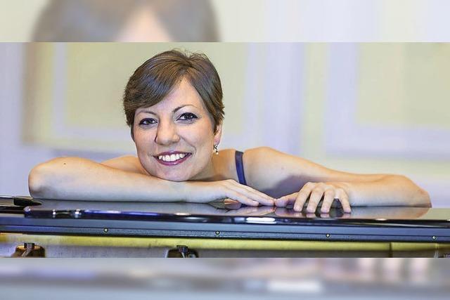 Pianistin Ioana Ilie in Laufen