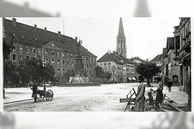Die Karlskaserne prägte einst das Straßenbild am Siegesdenkmal