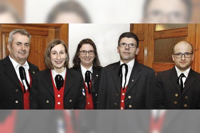Neue Aktive im Vorstand der Trachtenkapelle