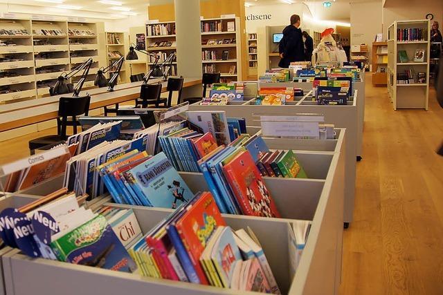 Neue Stadtbibliothek wird kräftig genutzt
