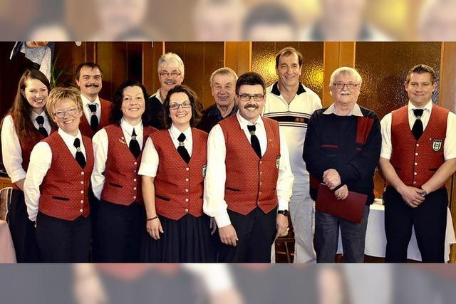 Musikverein Rotzel hat elf neue Ehrenmitglieder
