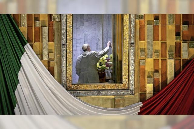 Franziskus zeigt Mexikos Elite die kalte Schulter