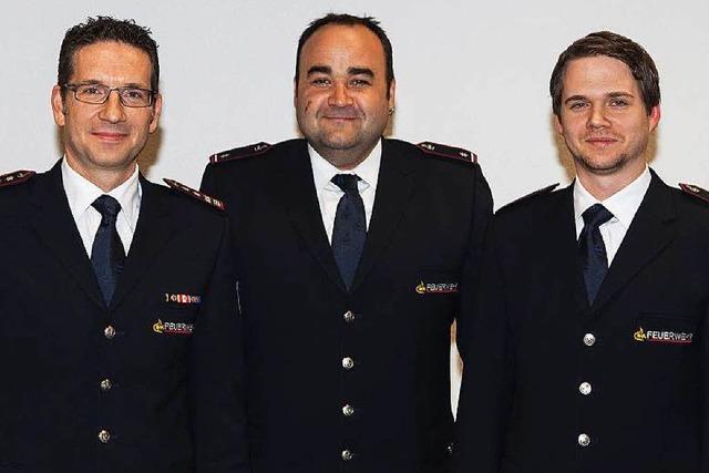 Frank Stader ist neuer Kommandant der Feuerwehr Waldkirch
