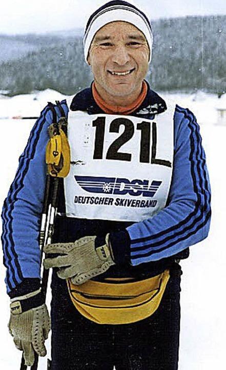 Wieder und wieder ging Werner Morath selbst an den Start.    Foto: privat