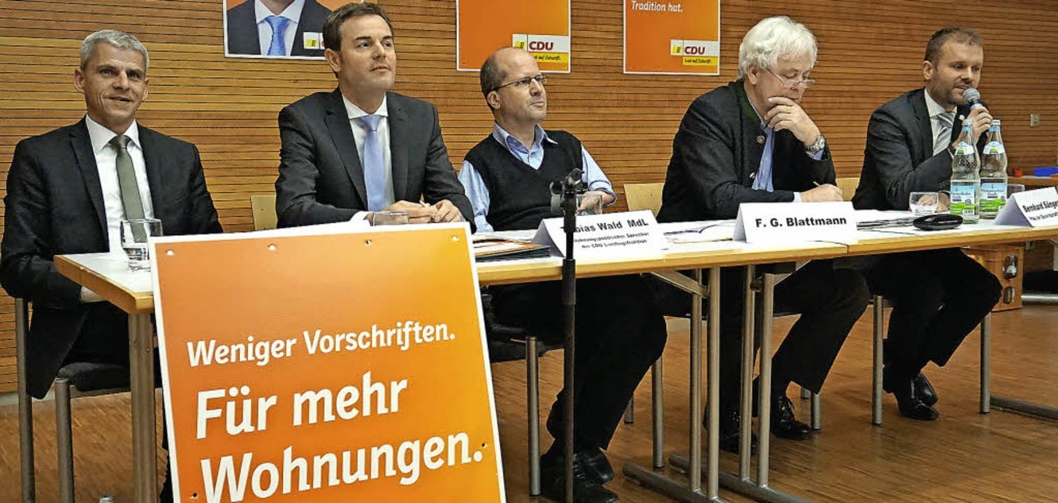 Auf der Suche nach Wohnraum, nicht nur...n, Bernhard Sänger und Christian Ante   | Foto: Julius Steckmeister