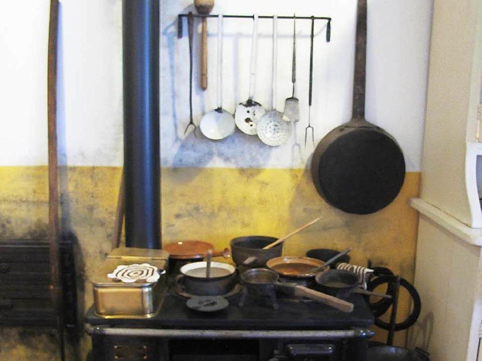 Museum Alte Schule: Die Kücheneinricht... - die soll jetzt aktualisiert werden.    Foto: Jutta Schütz