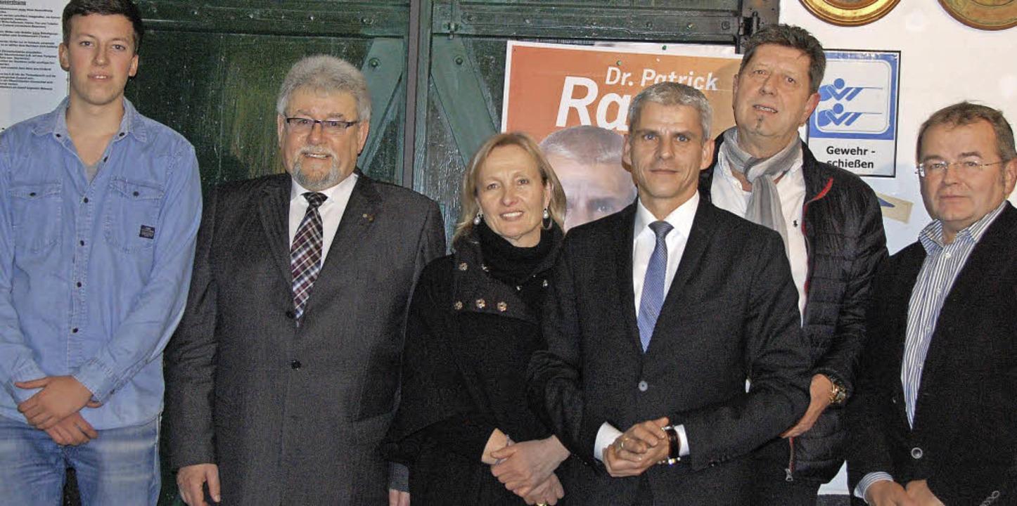 Gabriel Grebenar, Bernhard Winterhalte...n  Patrick Rapp (Dritter von rechts).   | Foto: Frey