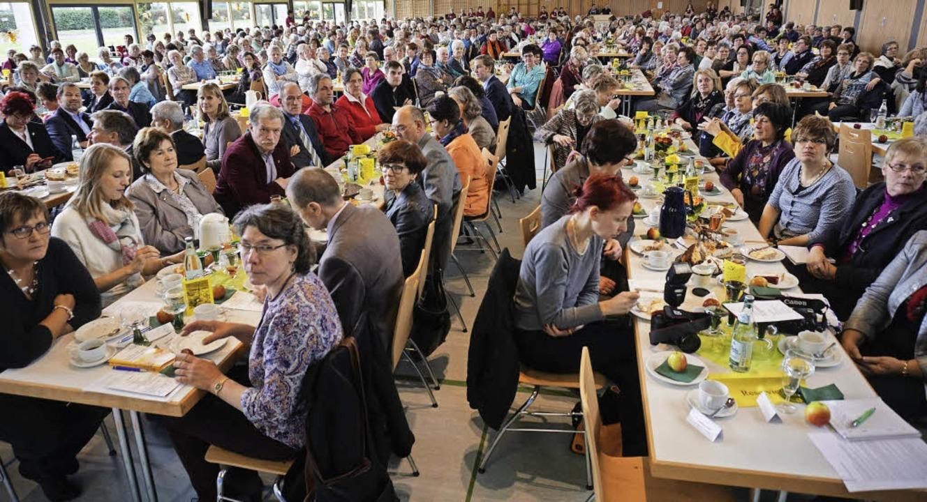 Bestens besucht war der Bezirkslandfrauentag in Ihringen.     Foto: Julius Steckmeister