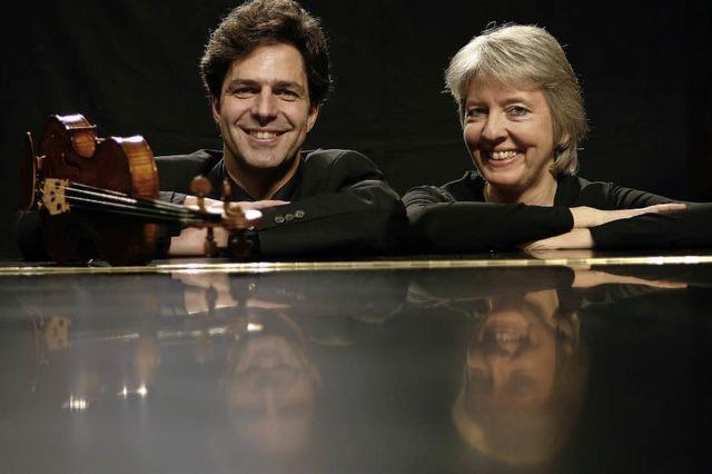 Klavier- und Violine-Duo im evangelischen Gemeindezentrum Kirchzarten