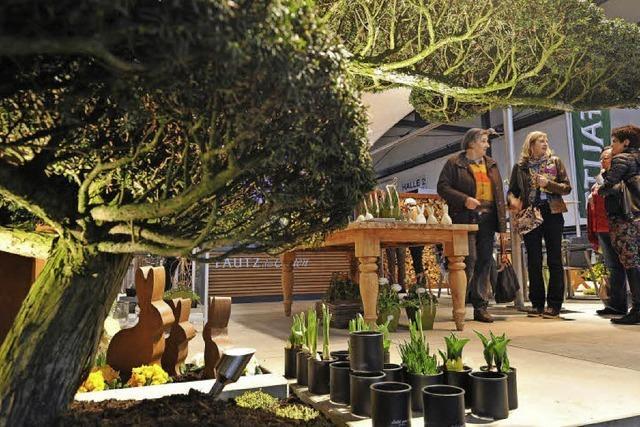 Freiburg: Messe Gartenträume