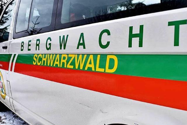 Bergwacht rettet Radlerin aus Bergnot am Schauinsland