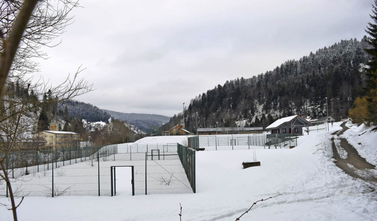 Im Bereich des Tennisplatzareals soll ein Stellplatz für Wohnmobile entstehen.   | Foto: Hans-Dieter Folles