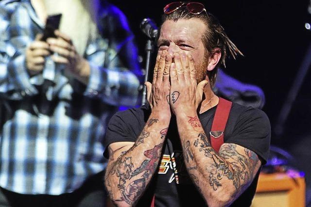 Eagles of Death Metal kehren nach Paris zurück: Kollektives Rocken als Therapie