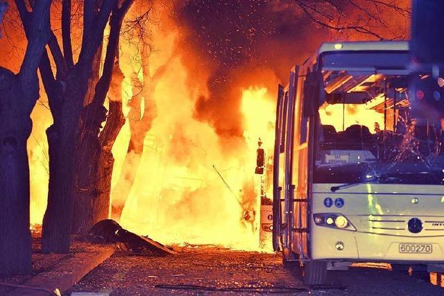 Terrorserie geht weiter: 28 Todesopfer in Ankara