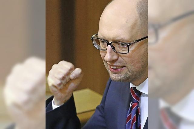 Präsident und Regierungschef kämpfen in Kiew um die Macht
