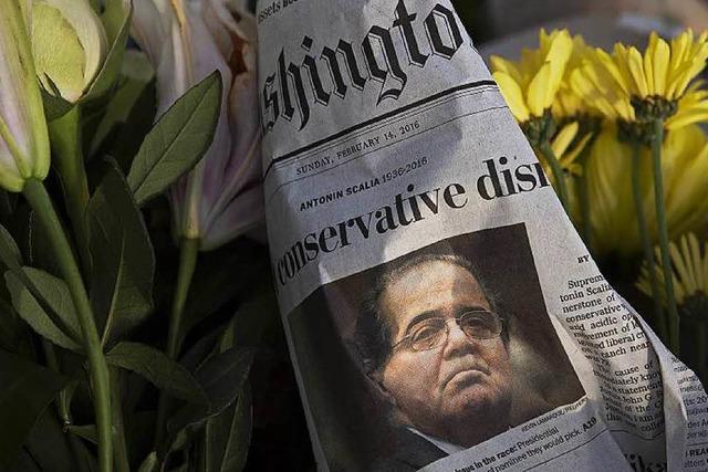 Kampf um den Supreme Court nach dem Tod eines Richters