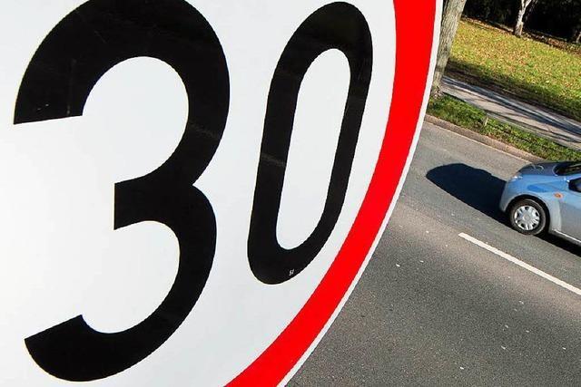 Bund will die rechtlichen Hürden für Tempolimits senken