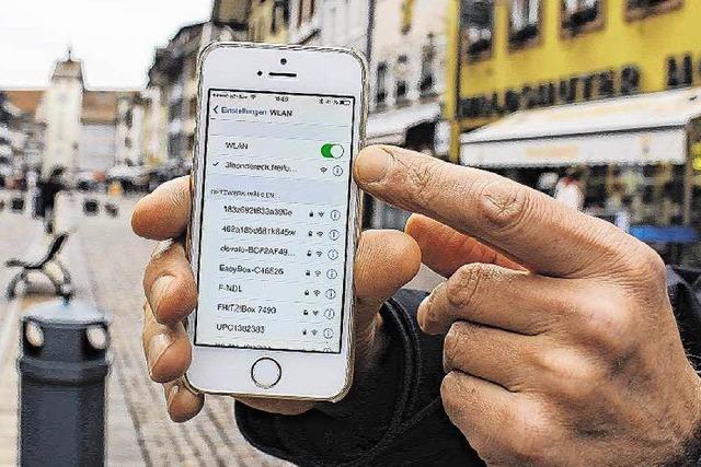 Freies Internet in der Innenstadt – Einwählen ohne Passwort