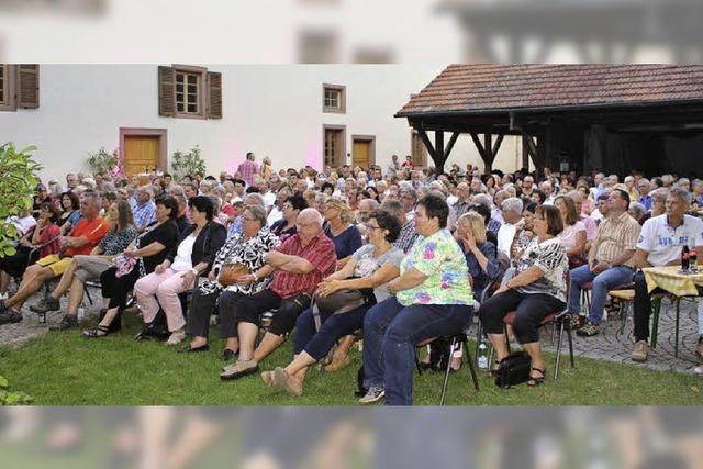 Kultur im Weinstetter Hof ist etabliert
