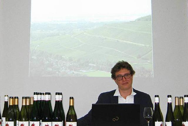 Markgräfler Wein mundet französischen Weinexperten