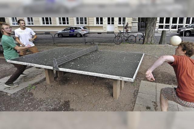 Tischtennis mit Köpfchen in Lahr