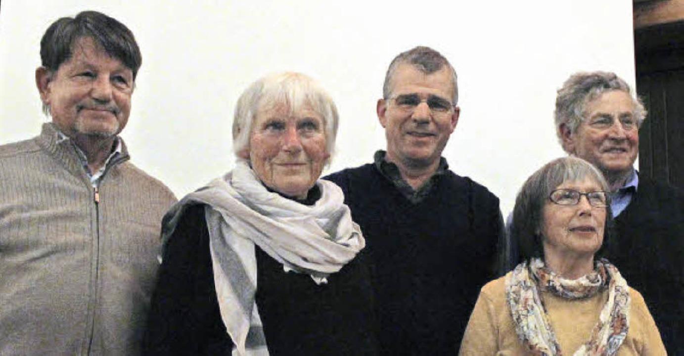 Der neue Vorstand (von links): Harald ...mel, Rosa Gabele und Bernhard Schuler   | Foto: Erich Krieger