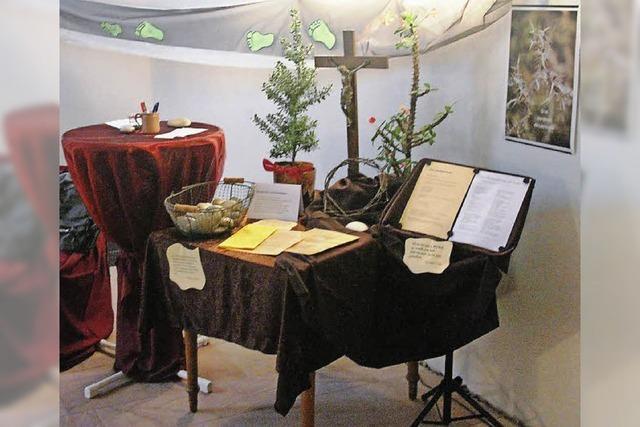 Ein Ort zum Beten und zum Verweilen