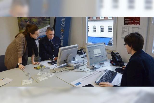 BZ-Chat mit Polizeichef Felix Neulinger