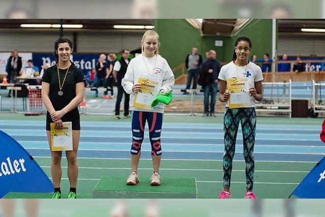 Mariella Hudec sprintet zum Titel
