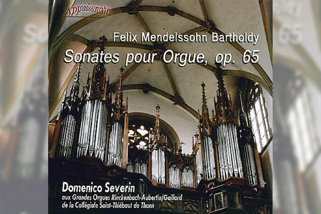 REGIO-CD: Mendelssohn aus dem Elsass