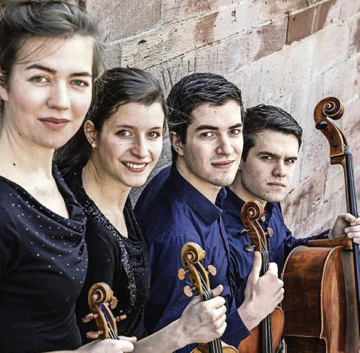 Künstlerisch bereits wunderbar reif: das Aris-Quartett  | Foto: Pro