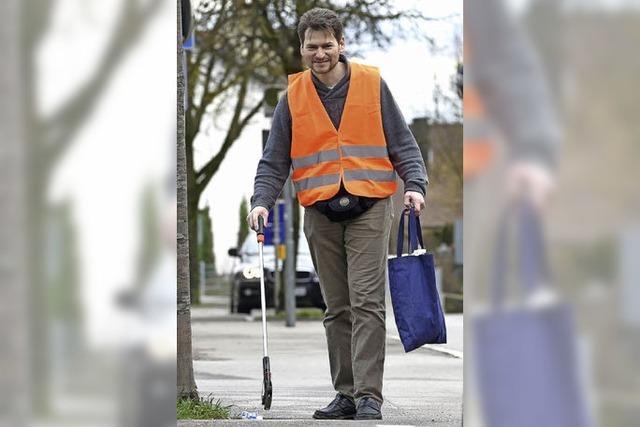 Warum ein Schweizer in Deutschland unentgeltlich den Müll anderer wegräumt