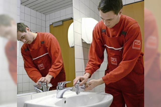 Dienst für eine saubere Umwelt