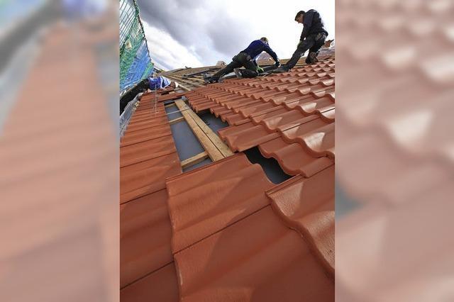 Wie werde ich Dachdecker?