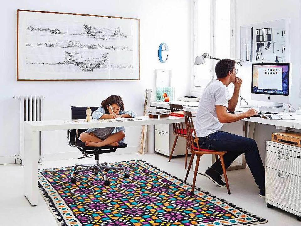 lust auf home office so geht s beruf karriere badische zeitung. Black Bedroom Furniture Sets. Home Design Ideas