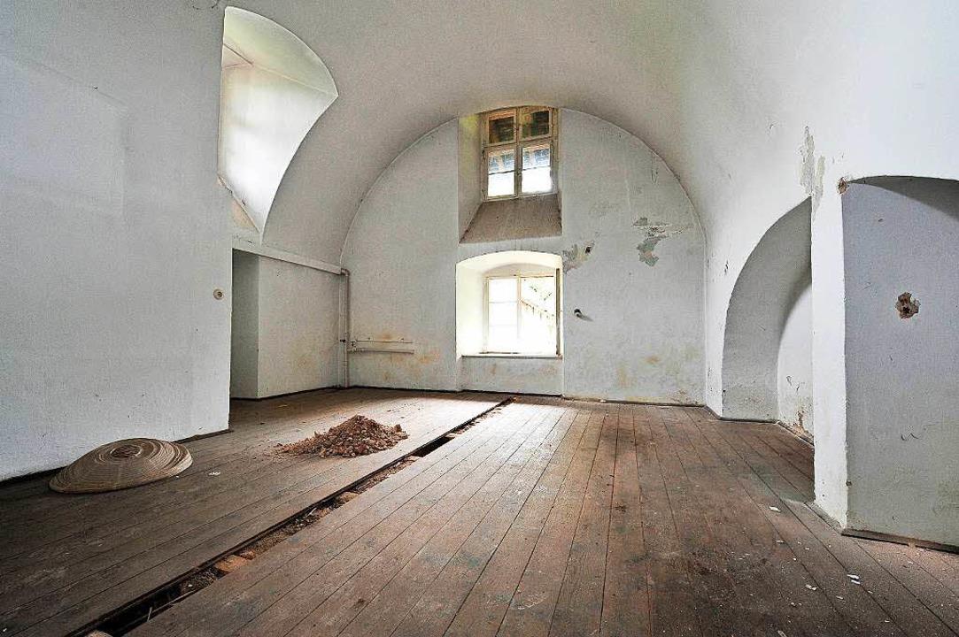 Ein Gewölbe des Meierhofs neben der Freiburger Kartaus  | Foto: Thomas Kunz